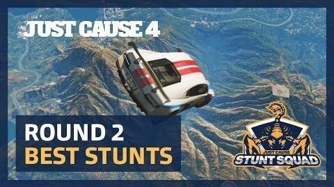 Just Cause 4 STUNT SQUAD Round 2 - Best Stunts!