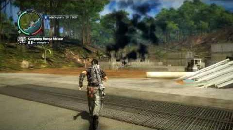 Just Cause 2 - Assault on a Naval Base - to 100% complete
