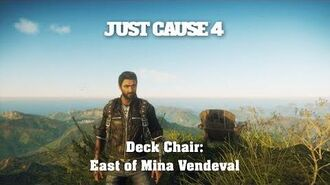 Just Cause 4 - Deck Chair East of Mina Vendeval