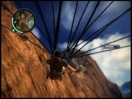 Parachute climbing