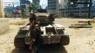Falconer AA Tank (front)