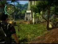 Just Cause 2 - Bandar Pekan Lama - civilian village 002