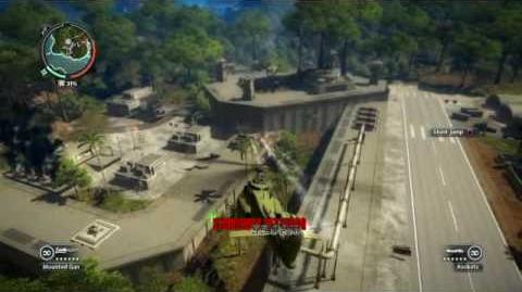 Just Cause 2- settlement completion- Pulau Dongeng