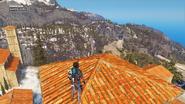 Sancte Evita, view to Refugio Umbra