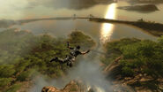 Panau Falls (evening skydiving)