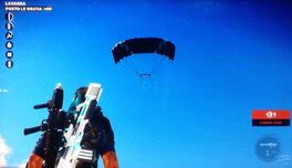 Floating Parachute