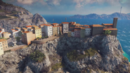 Just cause 3 cliff village