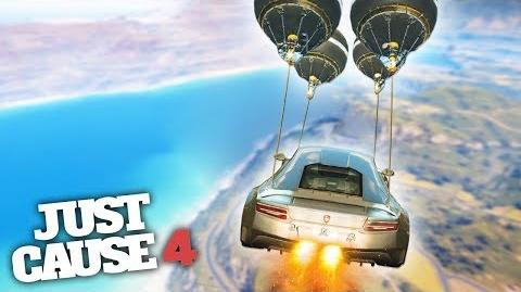 GRAPPLE HOOK EXPERIMENTS! - Just Cause 4 Gameplay!