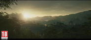 JC4 trailer screenshot (mountains and jungle)