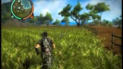 Just Cause 2 - Kampung Monyet Lena - civilian village
