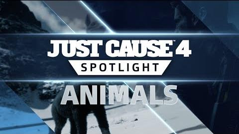 Just Cause 4 SPOTLIGHT Animals
