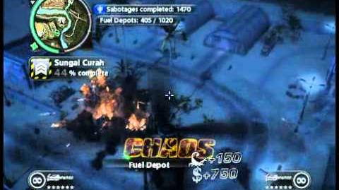 Just Cause 2 - Sungai Curah - military base