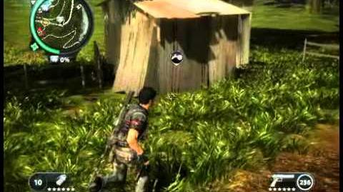 Just Cause 2 - Pekan Jati Besar - civilian village