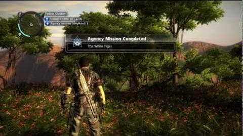 Just Cause 2 - Agency Mission - The White Tiger