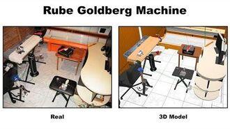 Rube Goldberg Machine - R.E.M. Studios