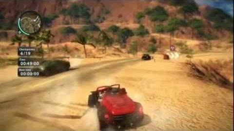 Red Canyon Race - Just Cause 2