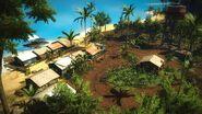 Kampung Nelayan-Nelayan overhead view 2