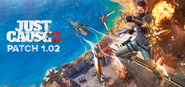 JC3 patch 1.02 artwork