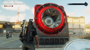 JC4 barrel generator with lid removed