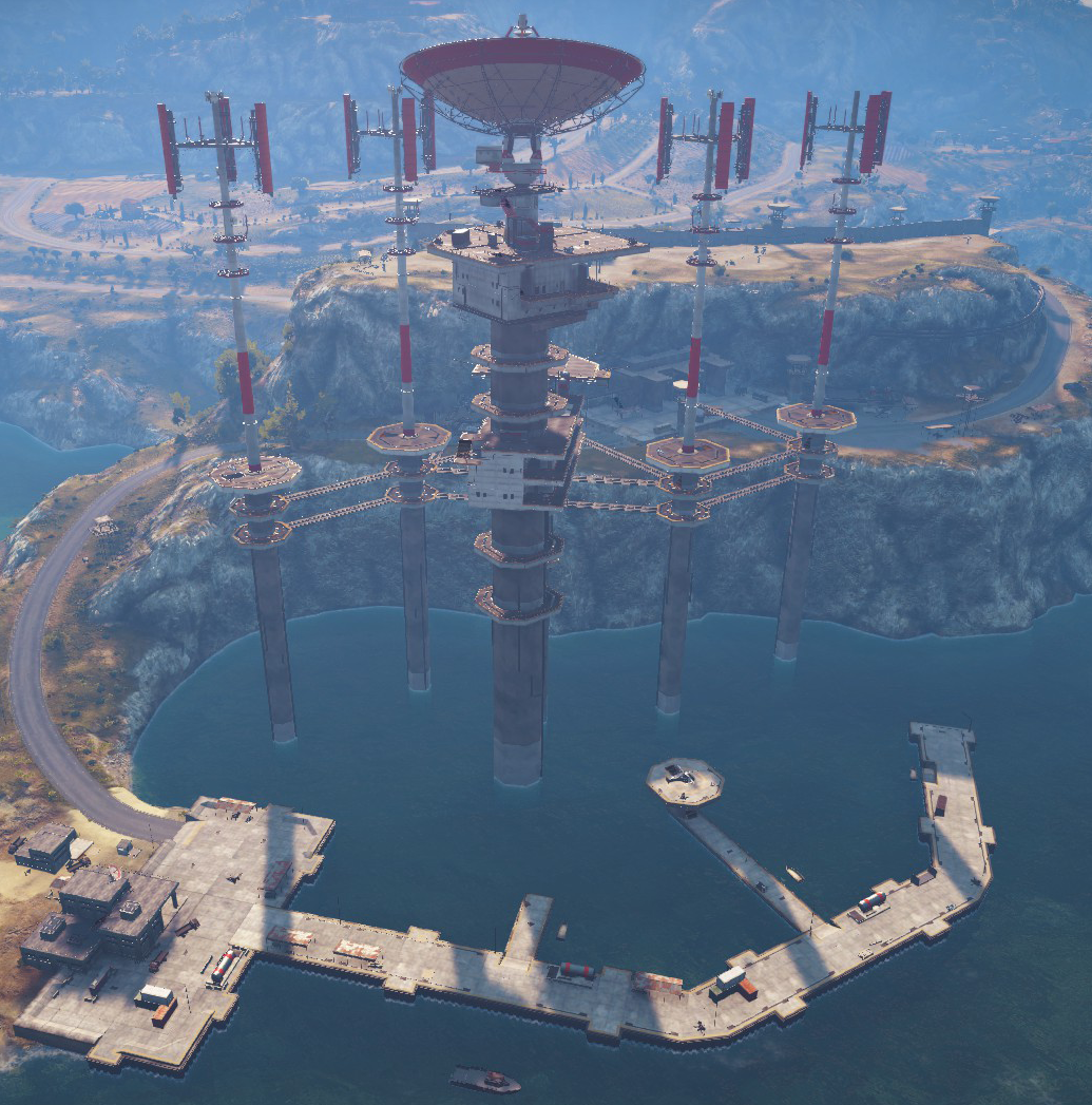 This is one of the tallest bases