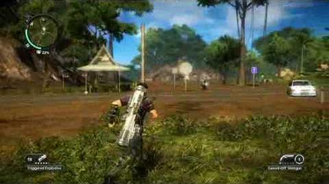 Just Cause 2- settlement completion- Kampung Tanah Runtuh