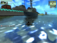 Rare occurance Police Pequod - Harpoon PC 350 during Sink the Buccaneer