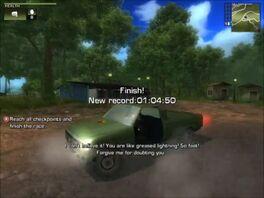 Deliverance race with Shimizu Tumbleweed