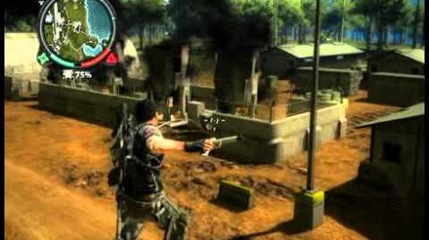 Just Cause 2 - Negeri Tenggara - military base