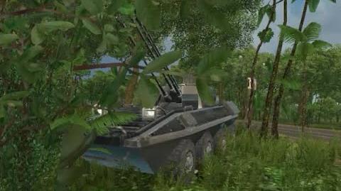 (HD) Ballard Centronel AAWV-21 - (mission Sink the Bukaner Hundir la Flota) - Just Cause 1