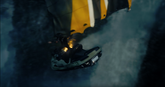 JC4 parachuting from a burning jetski over a waterfall (eye of the storm trailer)