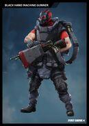 Black Hand Machine Gunner concept art