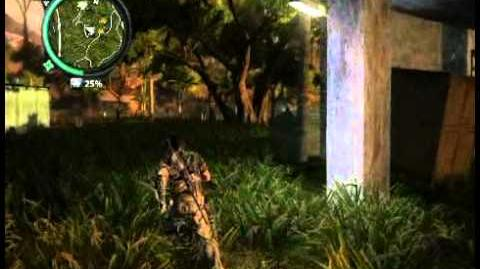 Just Cause 2 - Kampung Padi Hilang - civilian village