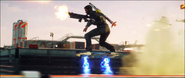 JC4 hoverboard (Danger Rising first trailer)