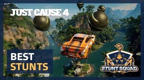 Just Cause 4 STUNT SQUAD Round 1 - Best Stunts!