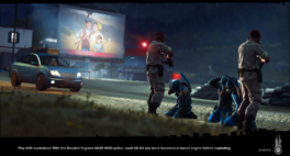 JC3 loading image with projector