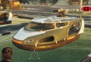 C3 Canvasback Hovercraft (left front corner)