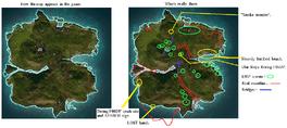 Hantu Island (map of secrets)