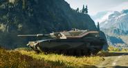 Warchief Assault Tank (left front corner)