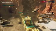 Operation Sandstinger (third barricade debris)