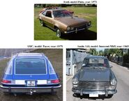 Cars used for create the -Squire Synco-