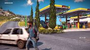 JC3 gas station at Sirocco Sud