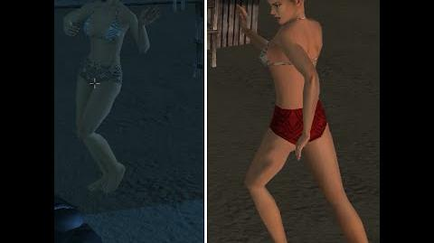 Sexy Girls, dancing in Just Cause 1