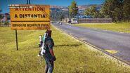 Guardia Val de Mar IV (road sign)