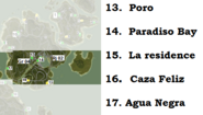 Provincia de Rio Negro map