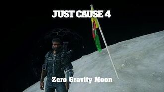 Just Cause 4 - Easter Egg - Zero Gravity Moon