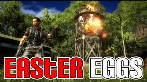 All Just Cause 2 Easter Eggs