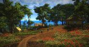 Bandar Padang Besar - Path and Houses