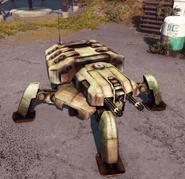 Old suppression drone