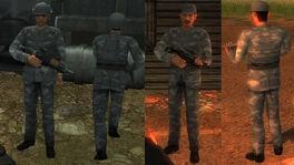 San Esperito Military soldiers