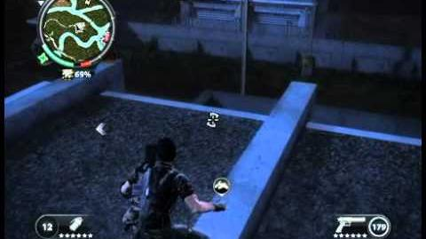Just Cause 2 - Sungai Jernih - military airport